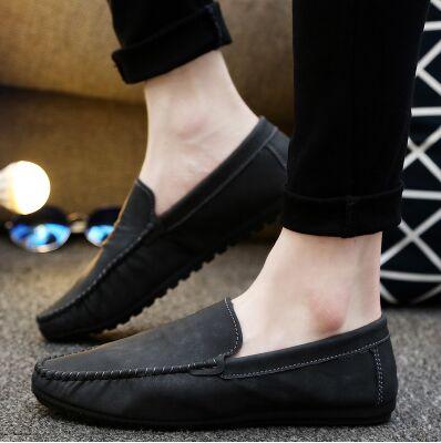 Cuir Chaussures 02 05 06 on Slip Casual En 01 Et Nouvelle Marque Appartements Automne Véritable Hommes 04 De Mocassins 03 Printemps wAXaqPFH