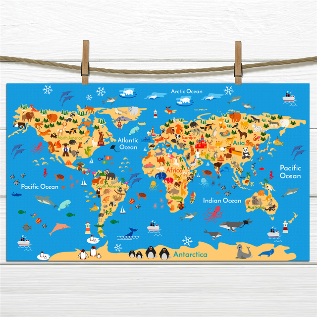 Animal ocean sea world map posters classic cinema building cafe bar animal ocean sea world map posters classic cinema building cafe bar decorative paintings retro nostalgic paper gumiabroncs Image collections