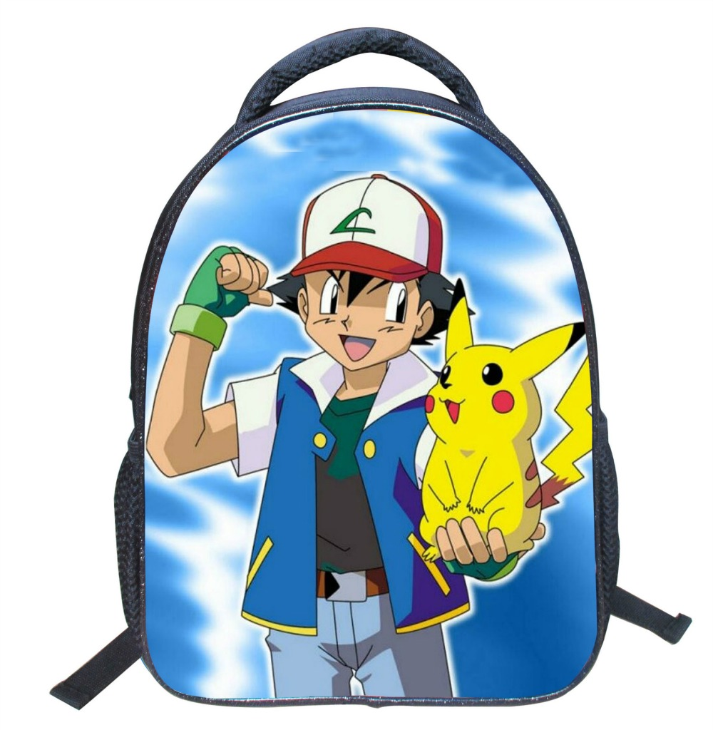 Hot game Pokemon Go Shoulder bag Cool 3D children Schoolbag Lovely students Backpack with Dinosaurs and Zomnie Bird patterns