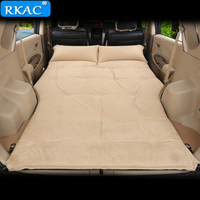RKAC HOT Automatic Inflatable Big Size SUV Car Inflatable Bed Outdoor Travel Car Air Mattress Bed Auto Supplies Car Travel Bed