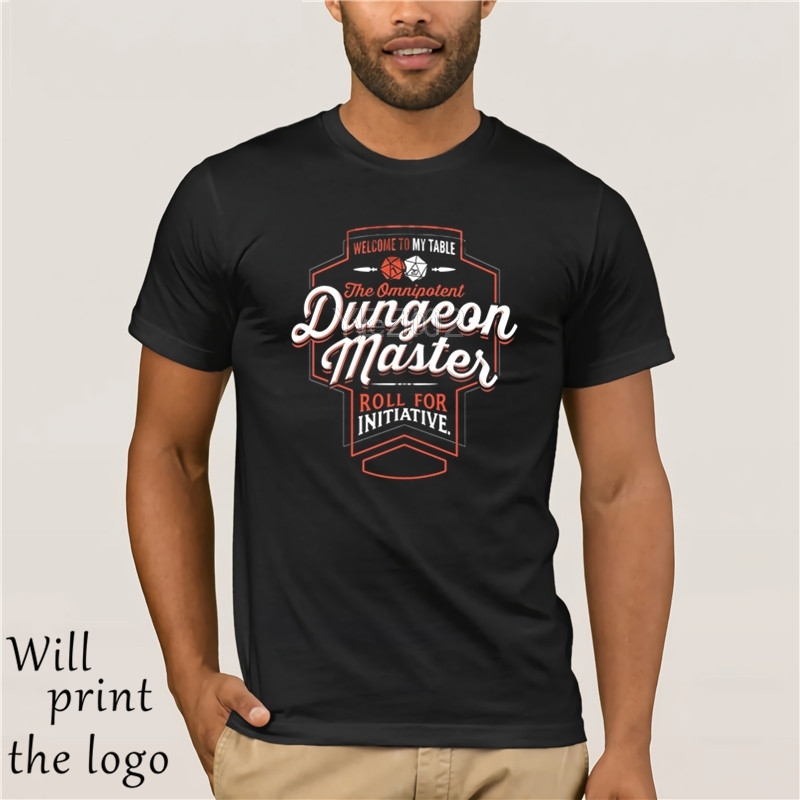 DUNGEON MASTER Fantasy RPG GM Dungeon Game Master DM boardgame tee T-Shirt image