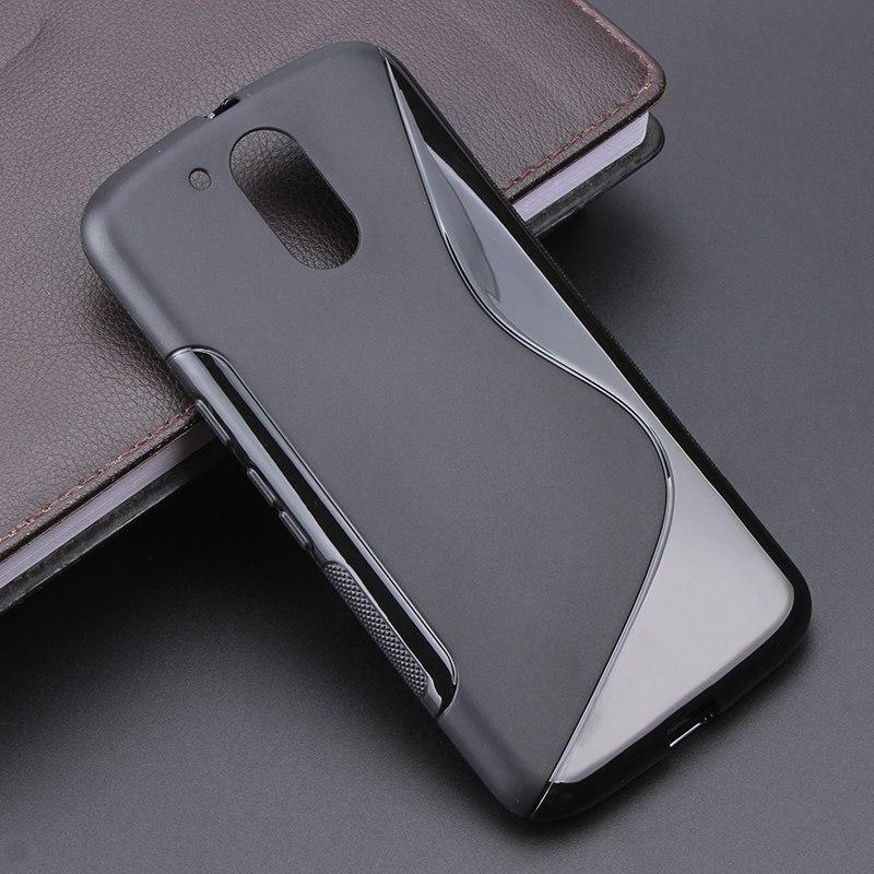 Для <font><b>Moto</b></font> G4 8 расцветок S линии противобуксовочные гель ТПУ тонкий мягкий чехол для Motorola <font><b>Moto</b></font> G4/ g4 плюс 5.5 телефон мешок силикона