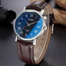 Top Luxury Fashion Brand Quartz Watch Men Women Casual Leather Dress Business Bracelet Wrist Watch Wristwatch 1201612221