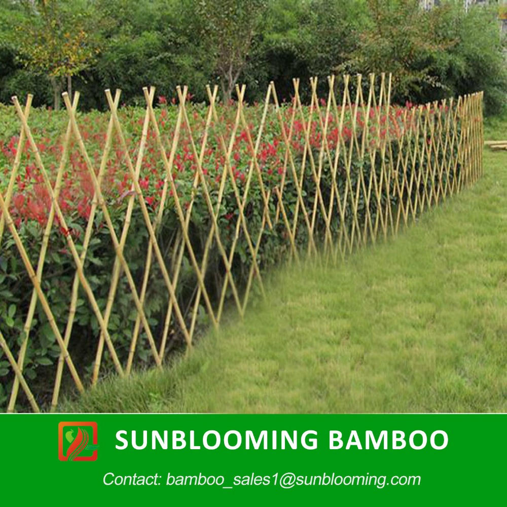 Promoci n de jard n cercado de bamb compra jard n - Bambu para jardin ...