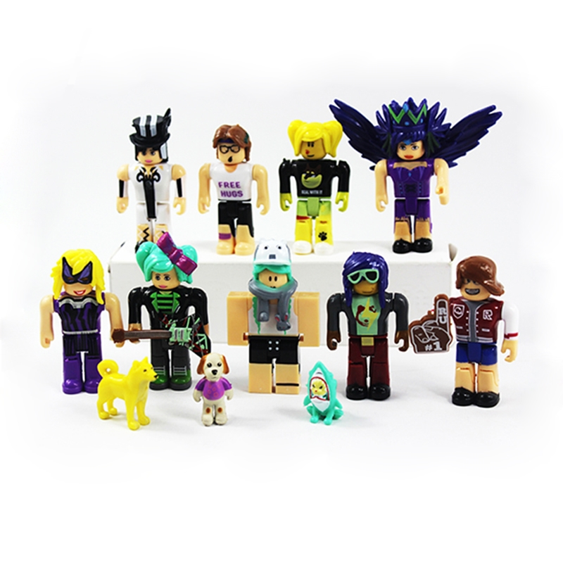 US $6 49 |Hot Game Roblox Legends PVC Models Game Figma Oyuncak Action  Figure Toys with Weapons Roblox Fans Toys Kid's Gift Collection-in Action &  Toy