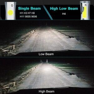 Image 4 - 12000LM Car Headlight Bulbs Error Free H4 H7 H11 H1 H3 9005 9006 HB4 HB3 H27 LED Lamps 880 881 72W 6500K Auto Lights 12V 24V