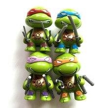Hot selling Teenage Mutant Ninja Turtles TMNT action figures Toys Free Shipping 4pcs/set