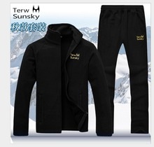 Free Shipping--2015 Terwsunsky News HQ Mens Spring/Autumn Sports Outerwear Casual SETS Jackets  and Pants TR023