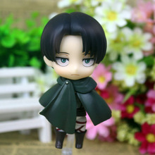 Best Price Nendoroid Anime Attack on Titan Shingeki no Kyojin Scouting Legion Levi Rivaille PVC Action Figure Model Collection Toys