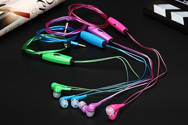 fashion Super Bass In-ear Earphone LED HIFI Stereo Sound Music Earbud Headset With Microphone Subwoofer Earphones For Phone MP3 rock y10 stereo headphone earphone microphone stereo bass wired headset for music computer game with mic