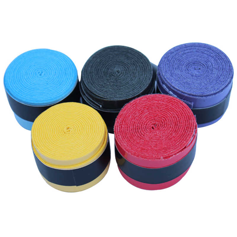 Quality perforated sticky feel Tennis Rackets Grips Wraps Racquets Grips with Hand Glue,squash Overgrips,Fishing Grip