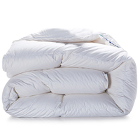 Svetanya Winter Goose Down Duvet quilted Quilt king queen twin full size Comforter Blanket Doona white Cotton Bedding Filler