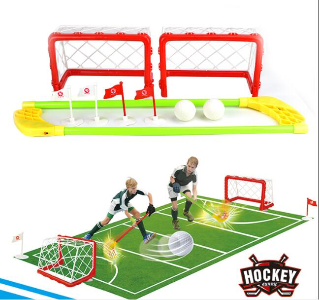 Eco friendly Plastic Hockey set Children 's sports toys ...