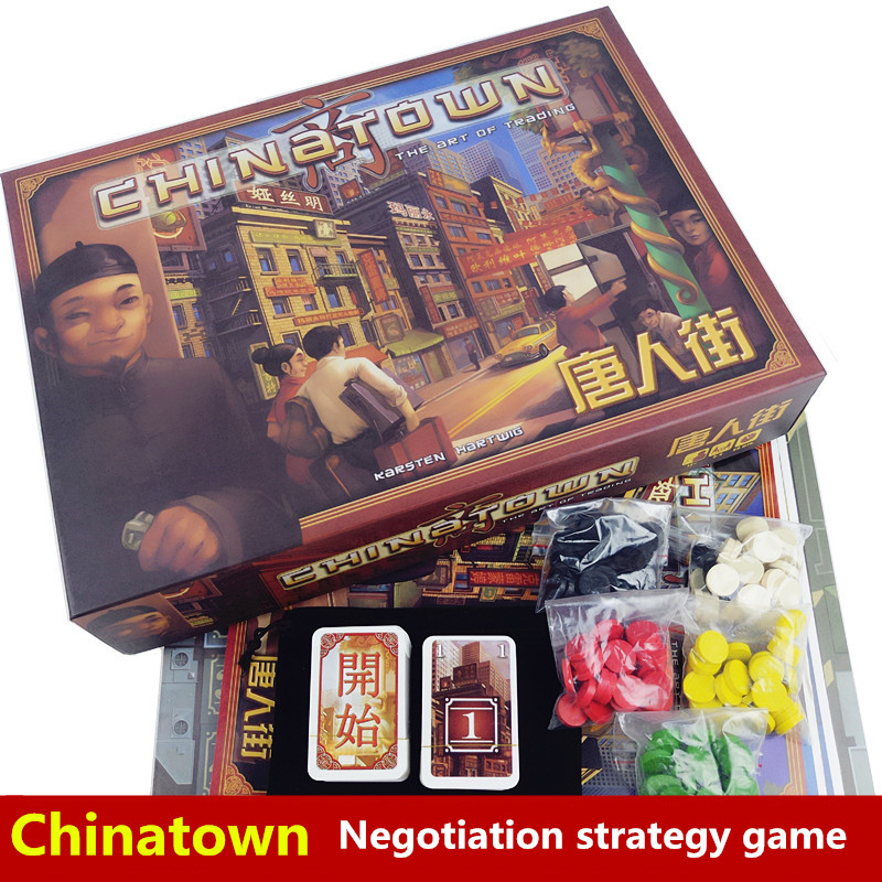 board game china town high quality, very suitable for the family, card game board game risk 2nd version full english version high quality very suitable for the party and family