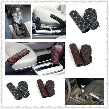 Car decoration shell hand brake shift gear box cover for BMW E34 F10 F20 E92 E38 E91 E53 E70 X5 M M3 image