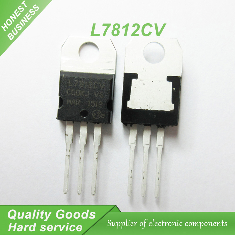 5pcs l7812cv lm7812 l7812 7812cv 7812 voltage regulator ic to 220 in rh aliexpress com