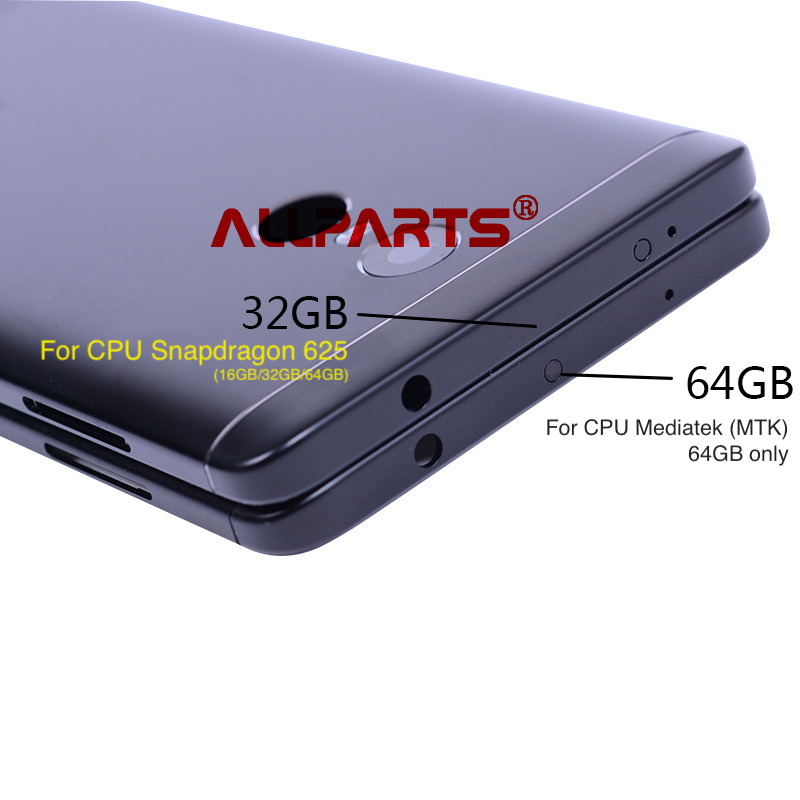 For Snapdragon 625 Or MTK X20 Version Back Housing For XIAOMI Redmi Note 4X Back Battery