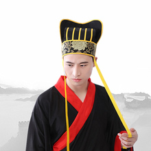 4 styles han dynasty hats chinese ancient minister halloween cosplay cap clothing accessories carnival
