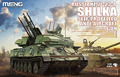 Meng Model 1/35 TS-023 ZSU-23-4 Shilka Self-Propelled Anti-Aircraft Gun