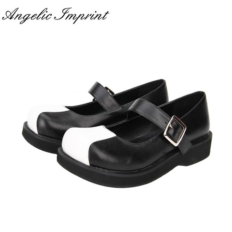 Schuhe Mary Jane schwarz