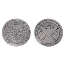 Монета без валюты памятная монета щит коллекция фильмов подарки сувенир ремесла Искусство Биткоин BTC