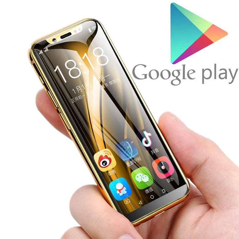 Support Google Play MTK6580 Quad Core Android 8.1 3G Smartphone 3.5