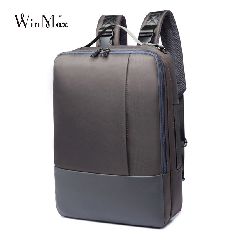 WInmax Brand Enlarge Backpack Multifunction 16 Inch Laptop B