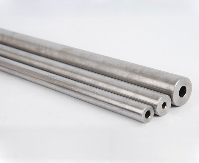 500mm length 45 seamless steel pipe precision tube 12mm outside diameter 8 03mm inside White