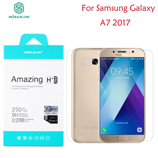 For Samsung Galaxy A7 2017 Screen Protector Nillkin Amazing H & H+PRO Tempered Glass For Samsung Galaxy A7 2017 A720 5.7