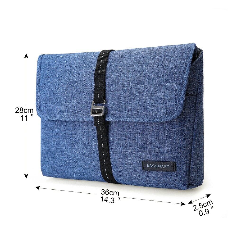 BAGSMART Ny resväskan bärbar väska Tablet Portfolio Väska till - Väskor för bagage och resor - Foto 5