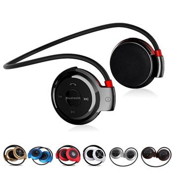 Portatile 503 Auricolare Bluetooth Sport Auricolare Senza Fili di Musica Cuffie  Stereo Mini Auricolari Con Microfono Radio FM Per PC Mp3 ef174ffe2f72
