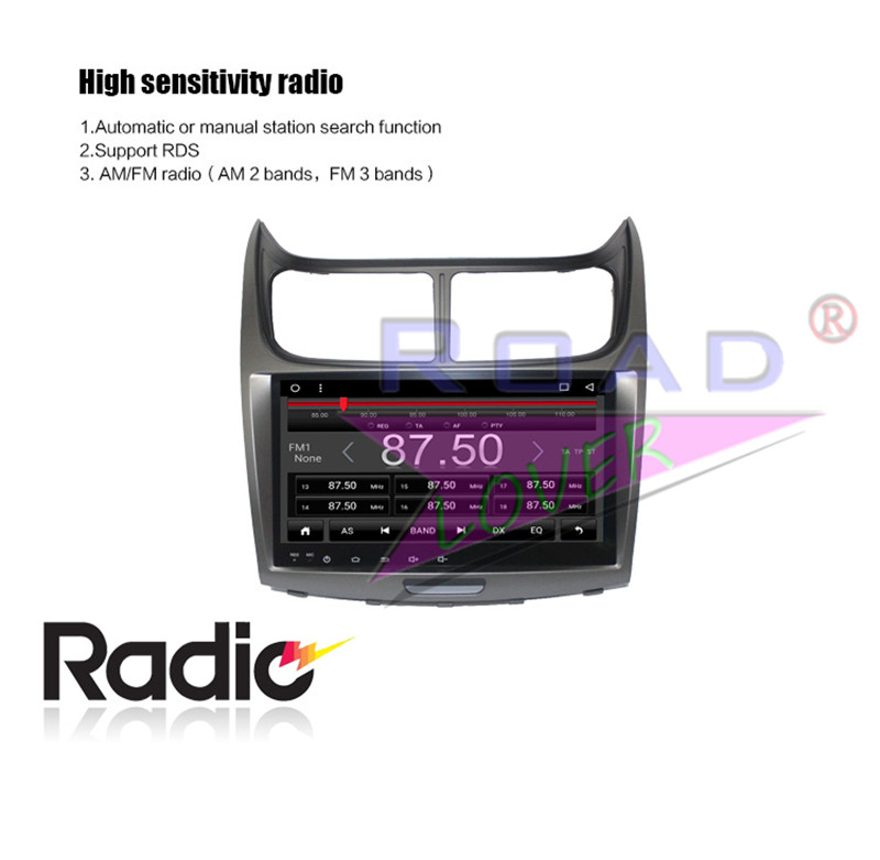 radio 2 din For Chevrolet Sail 2012 2013