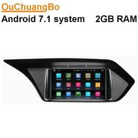 Ouchuangbo Android 7 1 Car Dvd Gps For Renault Symbol Megane II With Radio Bluetooth Wifi