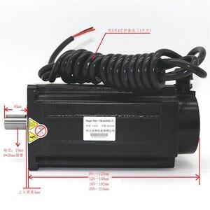Image 4 - 1 Nema 42 20N.m step Motor + sürücü kitleri 3 fazlı 6.9A 110mm NEMA42 step Motor için CNC Router 3M2280 10A + 110BYGH350D