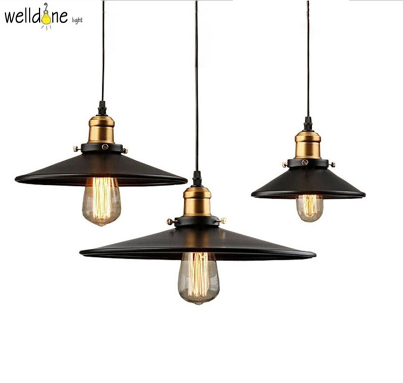 Restaurant Pendant Lights Retro Industrial Style Vintage American Country Dining Room Pendant Lamps E27 Base AC90-260V retro country pendant lights loft vintage lamp restaurant bedroom dining room pendant lamps american style for living room