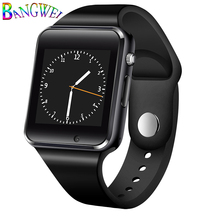 BANGWEI Women Men Smart Watch With Camera LED Color Touch Screen Support SIM TF Card Bluetooth smart watch Sport pedometer+Box