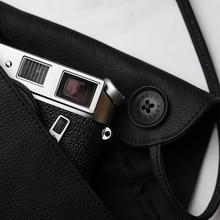 Newest HONEST ARTISAN  Handmade Genuine Leather Camera Case Bag