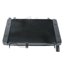 Black Replacement Radiator Cooling For YAMAHA FZS1000 2001-2005 2004 2003 2002 Motorcycle Accessories motorcycle radiator for honda cb600f hornet 600 1998 1999 2000 2001 2002 2003 2004 2005 aftermarket replacement water cooling