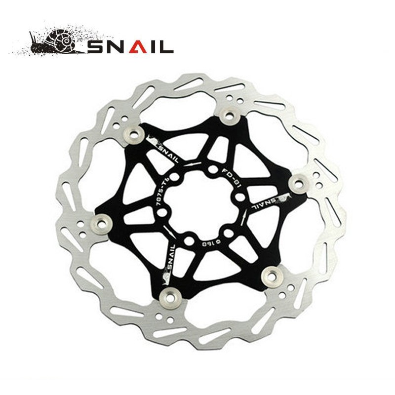 SNAIL-Mountain-Bike-MTB-DH-6-inch-160mm-Float-Floating-Disc-Brake-Rotor-Cycling-Bicycle-Rotors