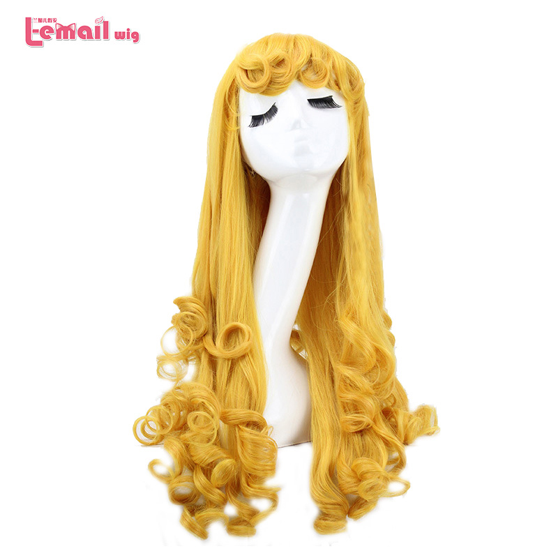 L-email Wig Ralph Breaks The Internet Cosplay Wigs 14 Characters Princess Wig Synthetic Hair Perucas Cosplay Wig