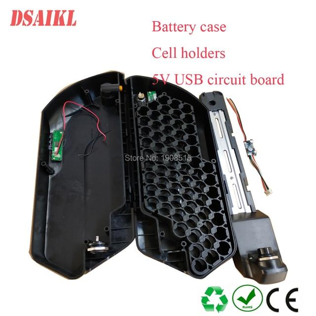 24V 36V 48V 52V down tube tiger shark ebike battery case