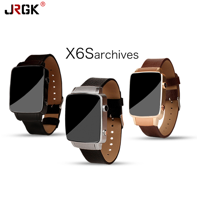 JRGK Watch X6S Smart Watch HRM Real Bluetooth Genuine With Camera For Android IOS Support SIM