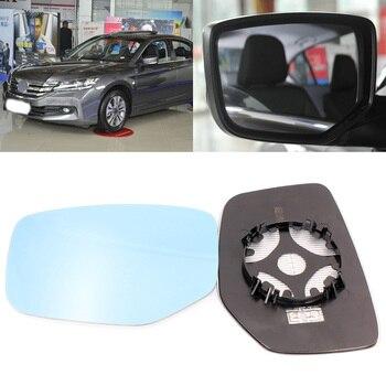 Honda Accord 2014-2016 için Yan Görünüm Kapi Ayna Mavi Cam Taban Isıtmalı 1 Çift