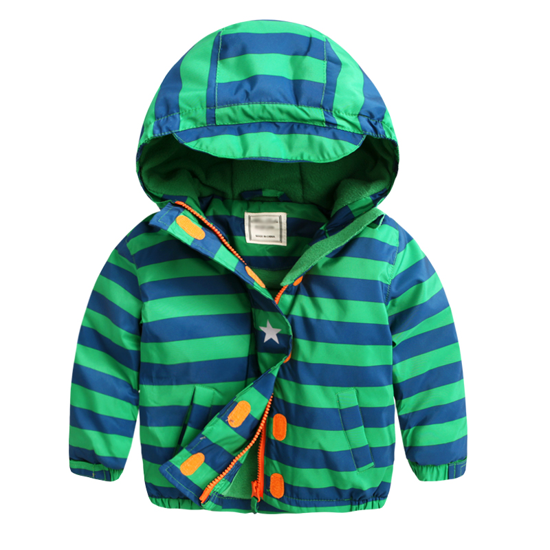 2017 new winter coat boys thickening cotton kids children baby warm coat with cap cotton jacket children winter coats jacket baby boys warm outerwear thickening outdoors kids snow proof coat parkas cotton padded clothes