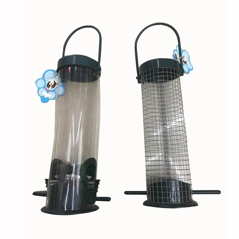 XINAN  Pet bird feeder plastic outdoor hanging garden simple pet XA-60035