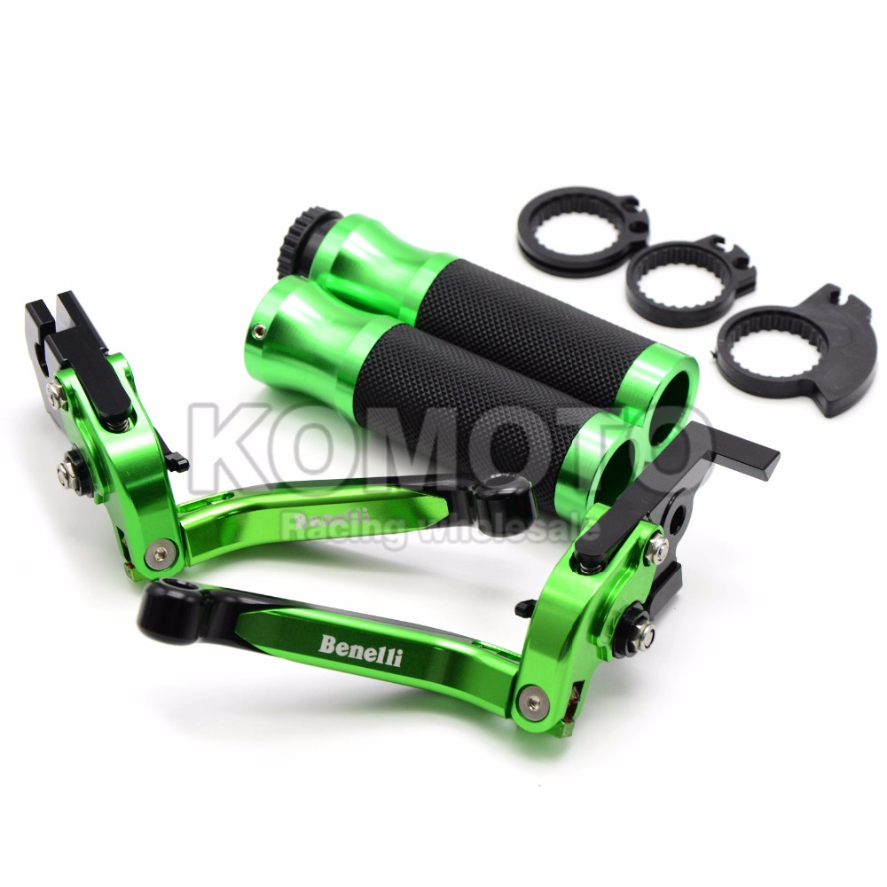 Motorbike Adjustable&Foldable&Extendable CNC Brake Clutch Levers&Hand Grips For benelli BJ600gs BN600I BJ300GS BN300 BN600 BJ600 orange motorbike foldable