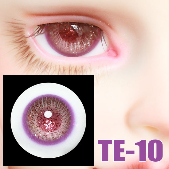 BJD Doll 14mm 16m Glass Eyes For 1/3 1/4 1/6 BJD SD Uncle Doll Eyes Hand Made Glass Doll Eyes Doll Accessories TE-10