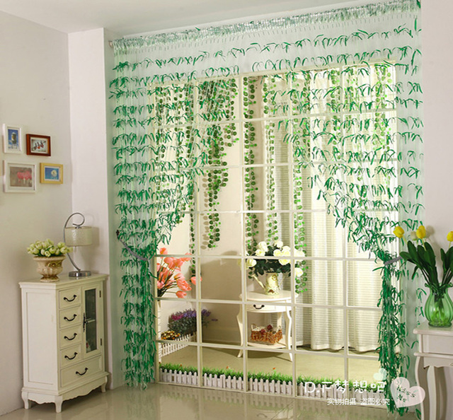 New Willow Curtain curtains bedroom living room entrance curtains