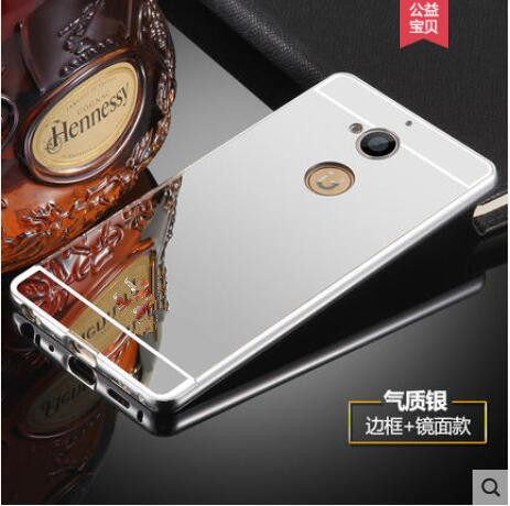 timeless design 135e4 9a44e US $4.59  Phone Bumper case Luxury Electric Plating Aluminum Metal Frame  Mirror Acrylic Back Cover For Gionee S6 pro S6pro GN9012-in Phone Bumper  from ...