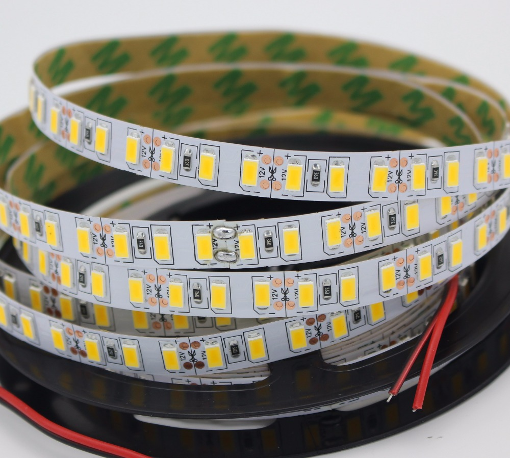120leds/m 1M 2M 3M 4M 5M Led Strip SMD 5730 Flexible Led Tape Light SMD 5630 Epistar Non Waterproof Cold White /warm White DC12V